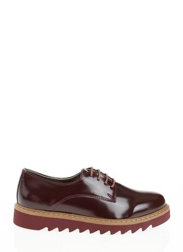 Derigo Bağcıklı Ayakkabı Bordo